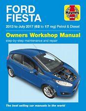 H6407 Ford Fiesta Petrol & Diesel (2013 - 2017) 62 to 17 Haynes Repair Manual