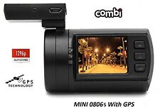 Mini 0806s Super HD 1296P Dash Cam with GPS 2018 FREE HARD-WIRE KIT!