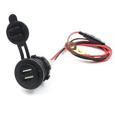 ULTIMO 12-24V USB MOTO AUTO PRESA ACCENDISIGARI CARICATORE