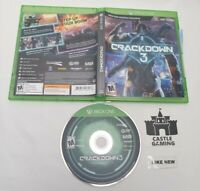 Crackdown 3 Xbox One 2019 TESTED CIB COMPLETE FAST TRACKED SHIPPING