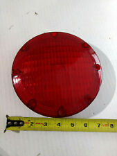 "baader 2000R 2000A  7"" round red brake lens amtran bus"