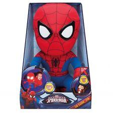 Marvel 257SMN Spider-man Plush PAL Night Light Soft Toy by Go Glow