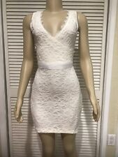 Alloy Apparel Ivory Lace Dress