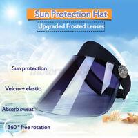 Anti-fog Empty Cap Clear Full Splash-proof Face Sun Bacteria Protective Hat