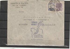 Brazil Si.196 ZEPPELIN COVER 2 VOO OUTUBRO 1932