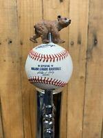 CHICAGO CUBS Tap handle For Beer Keg Kegerator MLB Rawlings Baseball Ball
