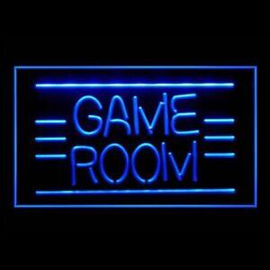 130011 Game Room Pinball Video DVD Poker Display Neon Sign