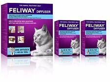 Feliway Genuine Australian Diffuser Set & 2 Additional Genuine 48mL Refills