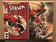 Spawn 300 set - McFarlane Cover P & Virgin Cover N