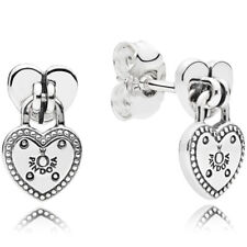 PANDORA Ohrstecker Ohrringe Earrings 296575 Herz Silber