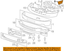 GM OEM Front Bumper-Side Bracket Left 22777965