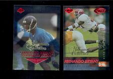 1999 Collectors Edge FERNANDO BRYANT Jacksonville Jaguars MILLENNIUM Card Lot
