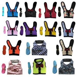 Mesh Lead Vest Harness With Leash for Animal Pet Rabbit Bunny Accessory 2021