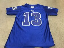 Nike NFL Girls Blue New York Giants Odell Beckham Jr  13 Football Jersey  Large cb1a81736