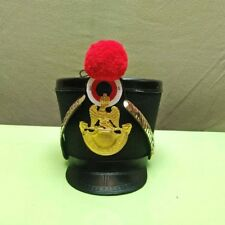 French Napoleonic pink and black Shako Helmet