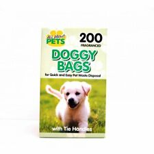 2 x 200 DOG PUPPY DOGGY BIODEGRADABLE SCENTED POO BAGS PET WASTE DISPOSE CLEAN