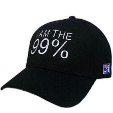 99% STRONG NEW YORK NYC OCCUPY WALL STREET MEDIUM MD HAT CAP MESH BLACK FLEX FIT