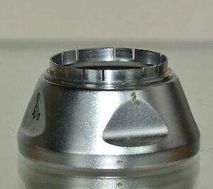 Voigtlander Lens Hood 310/29 Chromed in Original Leather Case 90/095