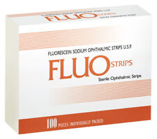 100 Fluo Strips Fluorescein Sodium Ophthalmic 1mg Amazon USA Canada for sale