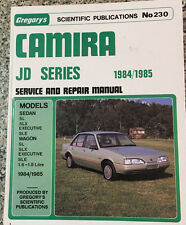 CAMIRA JD SERIES Service and Repair Manual Gregory's No 230