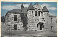 Fort Leavenworth Kansas c1910 Postcard Pope Hall No. 10