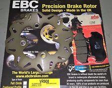kit disco anteriore EBC + pastiglie SBS Honda CN 250 spazio