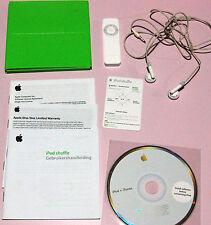 APPLE IPOD SHUFFLE 512MB PRIMA GENERAZIONE BIANCO LETTORE MP3
