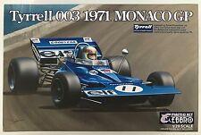 Ebbro 007/e007 TYRRELL 003 1971 GP di Monaco 1/20 KIT MODELLO PENNINO
