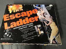 Fire Escape Ladder (Vintage Nos) Made in Usa
