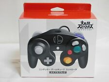 NEW GameCube Controller Super Smash Bros Black Nintendo Official Wii Pad JAPAN