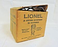 LIONEL TRAIN Multi-Volt No.0100 DC / AC Transformer WITH ORIGINAL BOX & MANUAL
