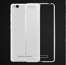 Transparent Soft Silicon TPU Back Cover Case For Xiaomi Mi 4i