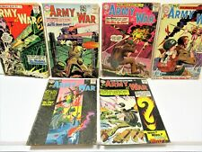 LOT OF 6 SGT. ROCK'S EASY CO, OUR ARMY AT WAR, 1960'S