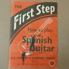 guitar FIRST STEP Spanish Guitar, Cramer + Sisley