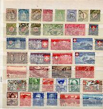 Lot Schweiz o ab  1854 - KW  180,-- € ( 30910 )