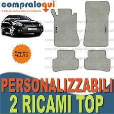 Tappetini in velour MERCEDES CLC cl203 2000-2011 Profi Mats Premium Qualità