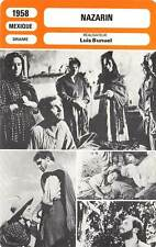 FICHE CINEMA : NAZARIN - López,Rabal,Macedo,Bunuel 1958