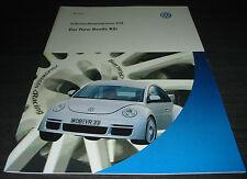 VW New Beetle RSi  224 PS  SSP 258 Selbststudienprogramm Stand  06/2001