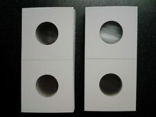 New 2x2 Nickel Cardboard Coin Holders Flips Qty of 50 Protector Buffalo V