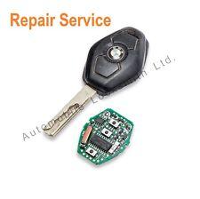 For BMW 3 5 7 series X3 X5 Z4 E38 E39 E46 3 button remote key fob repair service
