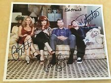 MARRIED WITH CHILDREN - CAST SIGNED BY ALL 4 STARS - + SIGNED ED O'NEILL PHOTO