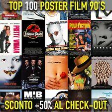 Poster film cult anni 90 locandina film cinema per arredamento stanza o camera