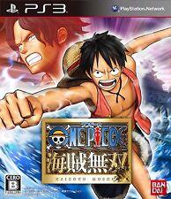 Used PS3 One Piece Kaizoku  SONY PLAYSTATION 3 JAPAN JP JAPANESE JAPONAIS IMPORT