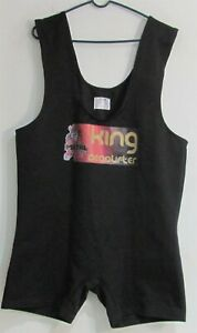 Metal King Deadlifter Suit size 54 Black (Lightly Used)