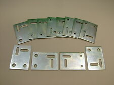 Mending joining fixing stretcher plate repair bracket, pack of 12, 53x38mm