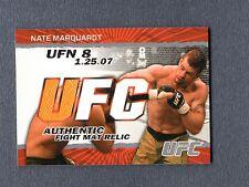2009 Topps UFC Fight Mat Relics #FMNM Nate Marquardt E UFC 095