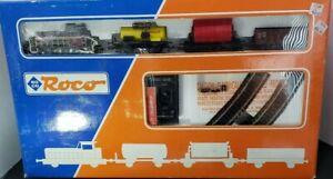 Vintage Roco, HO scale train set 41046. Original Box Unused 1984-1985