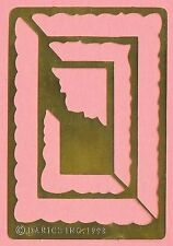 FRAMES photo frame style Brass Stencil - card making  scrapbook  embossing NEW