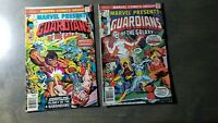 Marvel Presents Guardians Of The Galaxy 2 Issue Lot #7,9 Bronze Age Comics