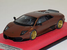 1/43 Looksmart Lamborghini Murcielago LP 670-4 Superveloce Fixed Wing Brown